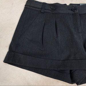 Express | Women's Shorts Pleated Gray